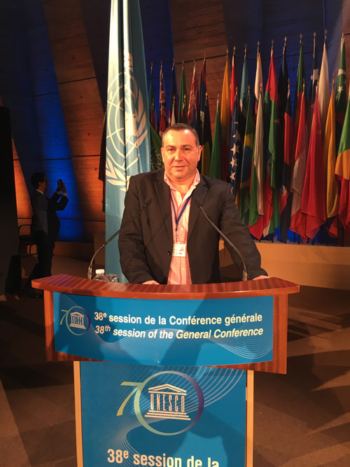 Cioff 38th General Conference of UNESCO